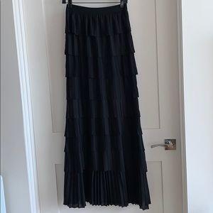 BCBGMaxAzria long skirt